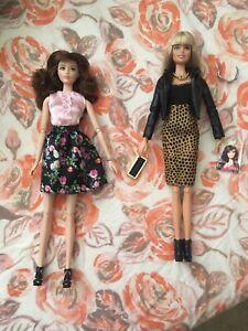 2 Incomplete Black Label Barbies Ebay