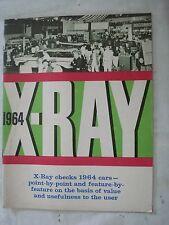 X-Ray 1964 AMC Rambler, Ambassador, American Motors. 1964 Cars Dealer Brochure