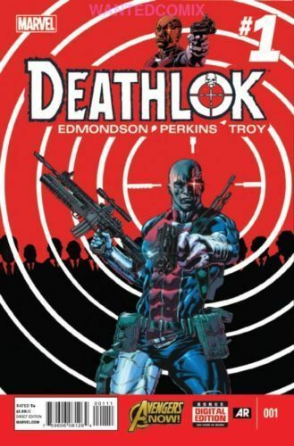 DEATHLOK #1 AGENTS OF SHIELD MARVEL COMIC BOOK OCT 2014 HENRY HAYES FIRST PRINT