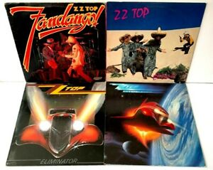 ZZ-Top-LP-Vinyl-Record-Album-Lot-Fandango-Eliminator-El-Loco-Afterburner