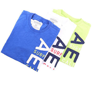 Aeropostale Men Short Sleeve Aero Surf Graphic T-Shirt Style 6986 $0Ship