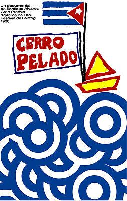 Cuban documental POSTER.Stylish Graphics Cimarron Room Decor Art.1561
