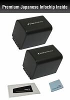 Wt-npfv70k2 Battery(2pack) For Sony Np-fv70 And Sony Dcr-sr15, Sr21, Sr68, Sr88,
