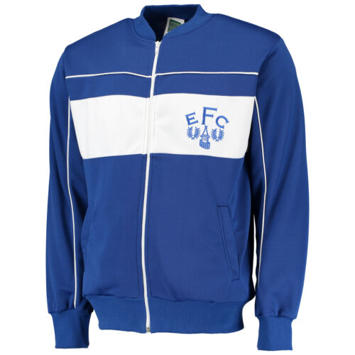 Gents Calcio Retro Everton Top Jacket 1982 Score Mens Disegnare Calcio Track qXtxpga