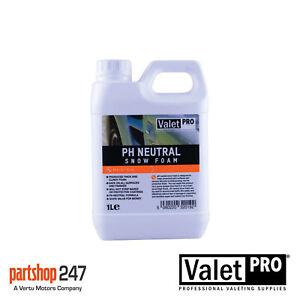 ValetPro Ph Neutral Snow Foam 1 Litre Pre Wash Shampoo