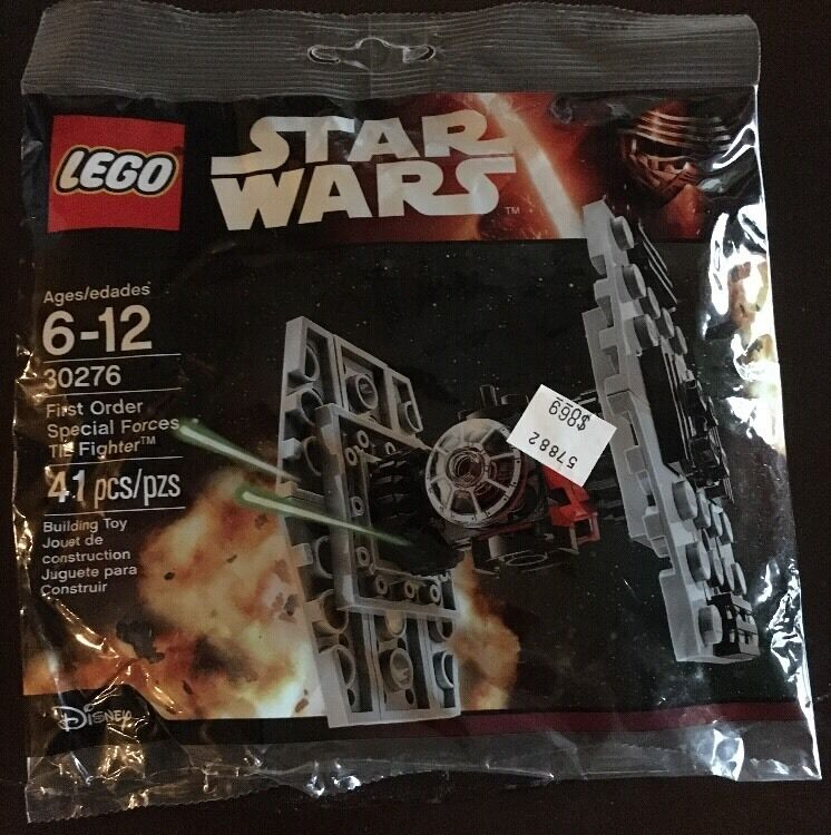 LEGO STAR WARS Free Ship Birthday Party TIE FIGHTER POLYBAG LOT  10  30276 NEW