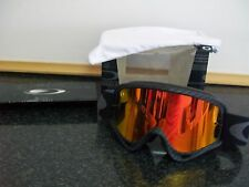 New Oakley O Frame genuine Fire Iridium lens Carbon Motocross Goggle goggles