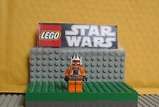 "STAR WARS  LEGO LO MINIFIGURE--MINI FIG "" ZEV  SENESCA --X-WING  PILOT  8089  """
