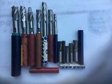 Machinist Tools End Mills Lot Of 7