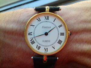 Exactus-Hand-Wicklung-7715-Vintage-Sammlung-1970-S-NOS-Uhren-Schweizer-Made