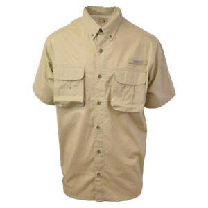 Red-Head-Brand-Co-Khaki-S-S-Woven-Performance-Fishing-Shirt-Retail-40