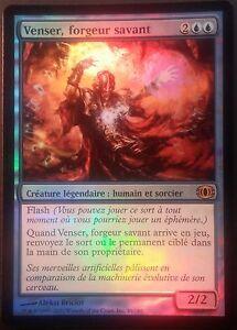 Venser-Forgeur-Savant-PREMIUM-FOIL-VF-French-Shaper-Savant-Magic-Mtg-NM