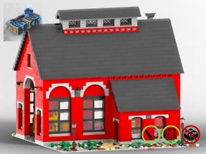 Eisenbahn-Reparaturschuppen-MOC-PDF-Bauanleitung-kompatibel-mit-LEGO-Steine