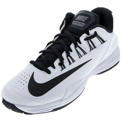 Mens White Lunar Ballistic Tennis Shoes