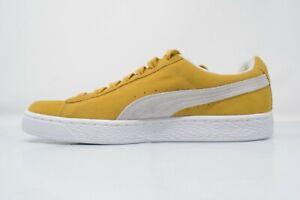 Details about PUMA Suede Classic Sneaker, Honey Mustard White, 8.5 M US 36534710 700 NIB