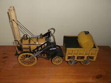 New : METAL ART Range : Vintage Rocket Tin Model Steam Train : Ornament : Retro