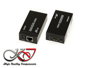 Extender HDMI - 50M - On A Single Cordon - Extension HDMI By Cords Network RJ45
