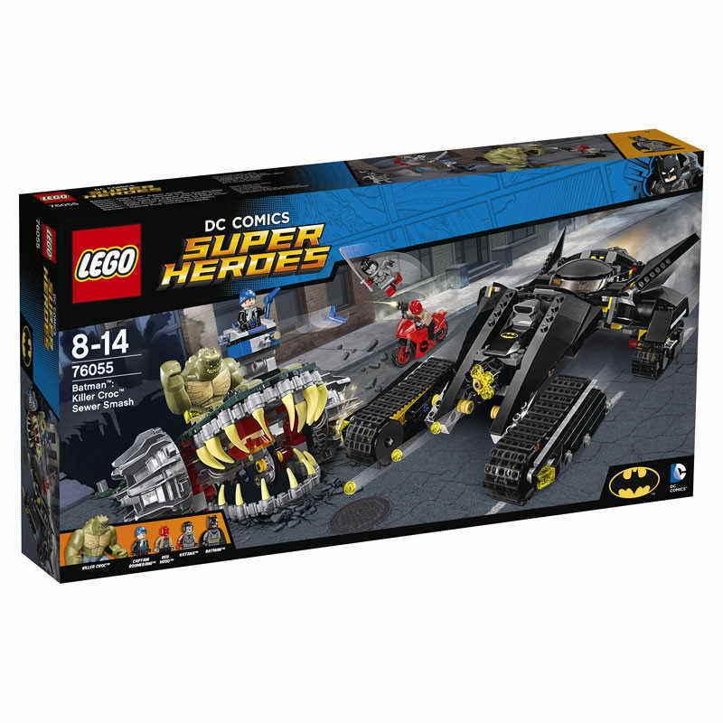 Lego Batman: Killer Croc Super Smash 76055 Set Dc Comics Superhelden