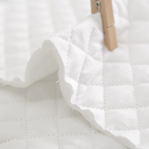 """Quilted Cotton Fabric BH Unbleached Cotton Solid By The Yard 44/"""" laceking2013"""