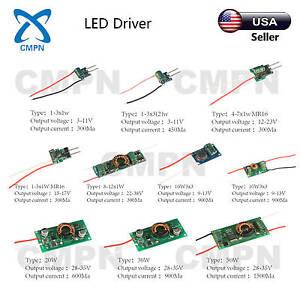 12V Constant Voltage LED Driver Power Supply 15W 20W 30W 50W 60W