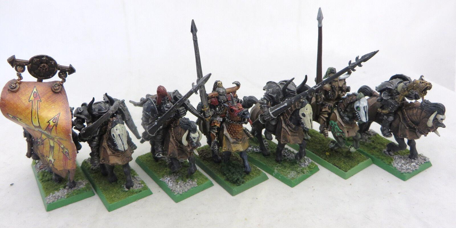 Warhammer Chaos  KNIGHTS painted ARMY Lot esclaves Ténèbres AOS Épuisé  rentable