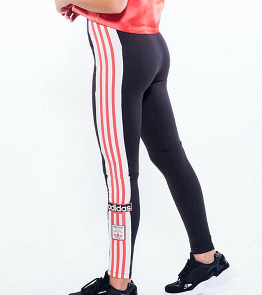 Adidas Originals Adibreak Femme Leggings Noir Uk 10, 12 Limité Quantité Neuf