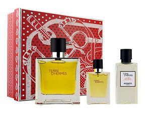 Hermes-Terre-D-039-Hermes-75ml-Parfum-amp-12-5ml-EDP-amp-40ml-A-S-Lotion