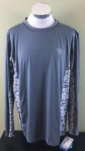 Gillz-Long-Sleeve-Waterman-Outdoor-Shirt-Grey-Size-Large-NWT