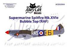 Alley Cat Decals 1/32 SUPERMARINE SPITFIRE Mk.XVIe Bubble Top Royal Air Force