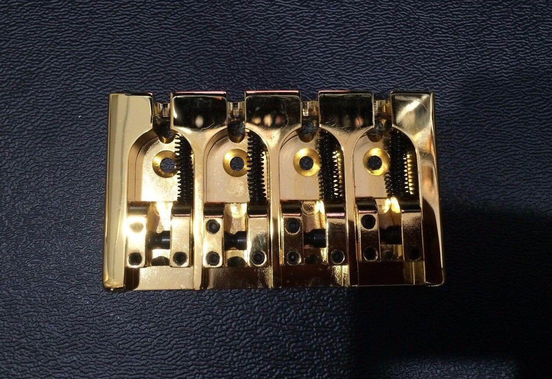 4 String MODULUS QUANTUM Bridge GOLD Brand new
