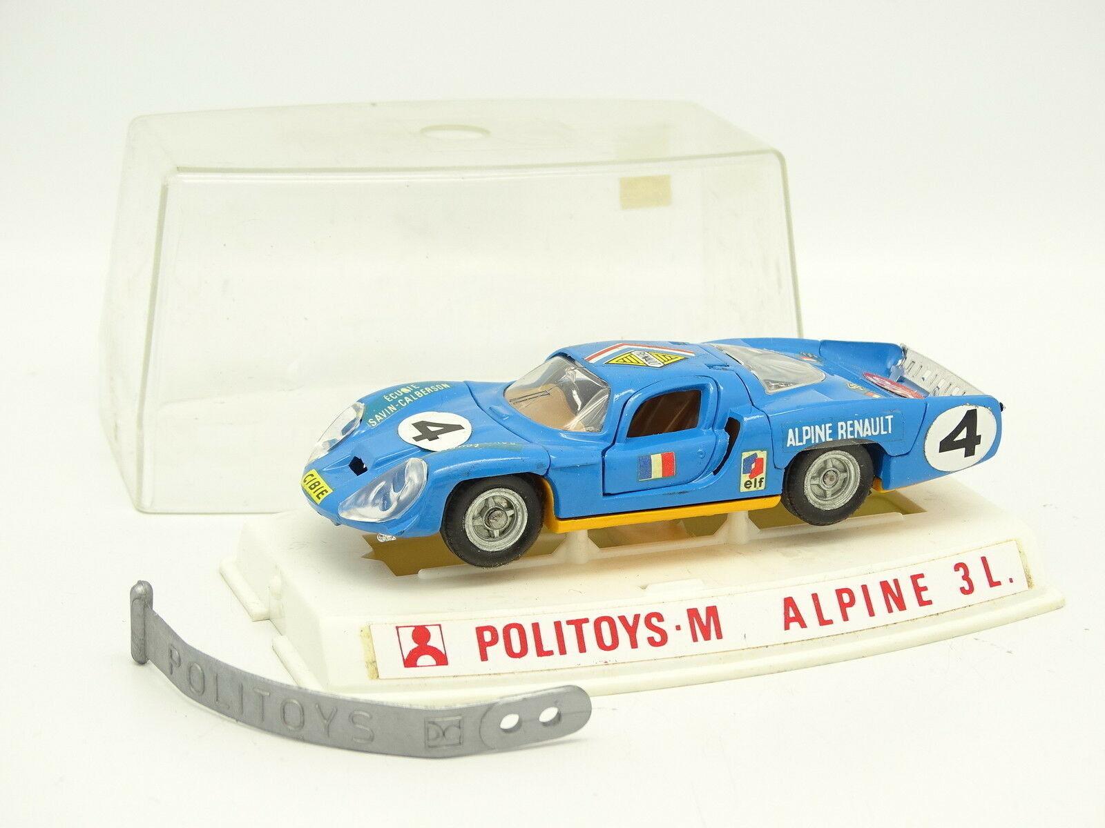 Politoys 1   43 - alpine renault le mans no.598.