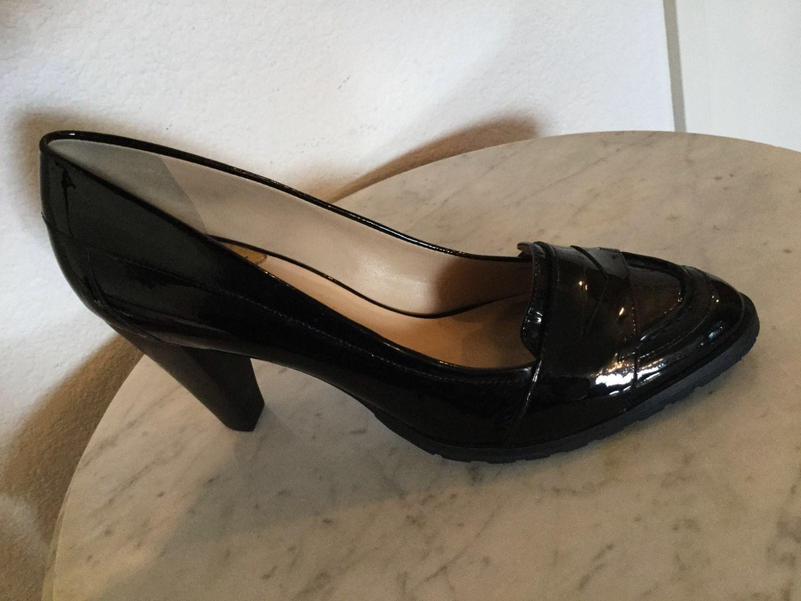 Cole Hann Women's Penny Black Patent Leather Pump. U.S Size 10.5 B. Brazil Made.