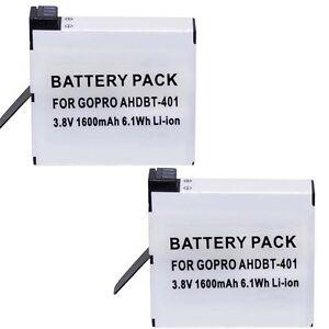 TWO-Batteries-AHDBT401-for-GoPro-HERO-4-CHDHY401-CHDHX401-CHDBX401-CHDBY401
