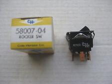 Cole Hersee 58007-04 Wiper Rocker Switch, 3 position, DPDT, Ward School Bus,NOS!