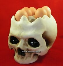 Egg Stand / Holder for 6 Eggs | Fantastic Human Skull Shape | New In
