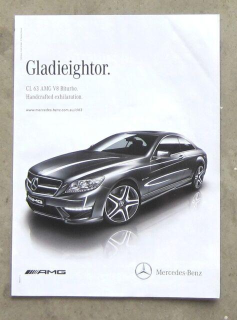 Mercedes Benz Amg Cl63 Biturbo Sports Car Auto Magazine Page Sales