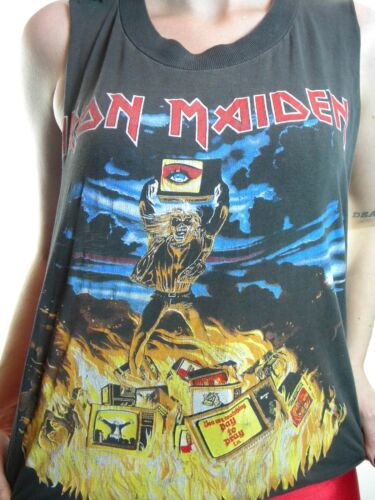 Vintage Iron Maiden shirt Holy Smoke Concert shirt