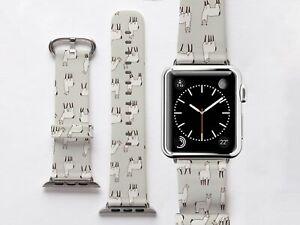 Cute Llama Apple Watch Strap Animal Print Band For Iwatch Series 2 3 4 Bracelet Ebay