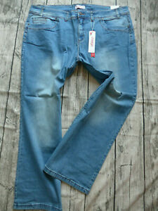 Sheego-Jeans-Trousers-Stretch-Size-42-to-58-Maila-Light-Blue-667-New