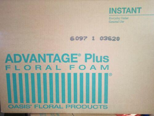 Oasis 48 Pack Foam Brick Fresh Flower Florist Advantage Plus #10-00180