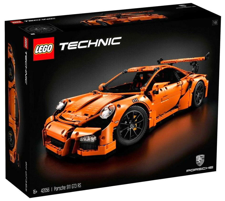 LEGO Technic 42056 Porsche 911 GT3 RS New New New Factory Sealed Master Bulider Set ce5c50