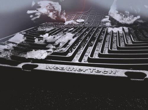 WeatherTech All-Weather Floor Mats for GMC Terrain 2018-2019 1st 2nd Row Black