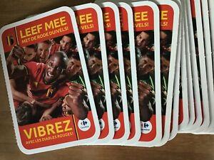 200-pochettes-carrefour-2020-vibrez-avec-les-diables-rouges-leef-mee-rode