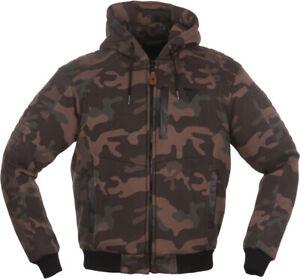 Modeka-Hootch-Lady-Gr-38-Damen-Kapuzenpullover-mit-Protektoren-camouflage