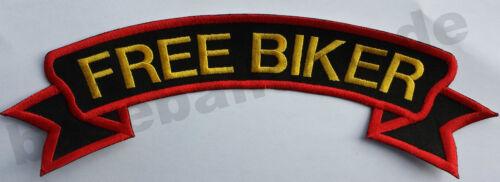 Dos Patch Dos Écusson Nº 73 Free Biker Colour écusson emblèmes