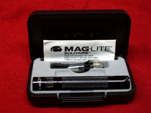 Original MagLite Solitaire Torch Maglite Solitaire in Black