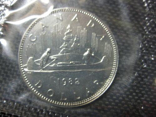 $1.00 1982 Canadian Prooflike Nickel Dollar