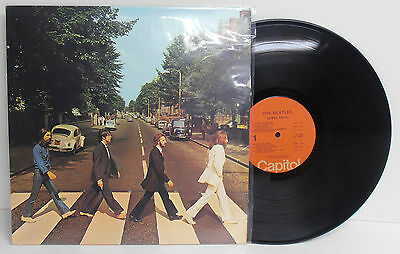 the Beatles Abbey Road LP Vinyl Record Album by Capitol SO-383