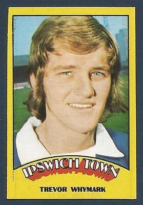 TREVOR WHYMARK A/&BC-FOOTBALL 1973 BLUE BACK-#090