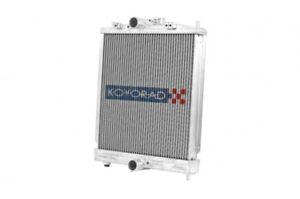 Koyo HH080300 48mm HH Series Racing Aluminum Radiator 99-00 Civic Si Del Sol B16
